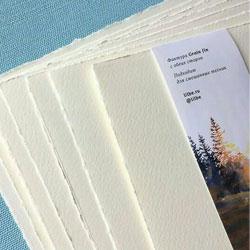 3 набора акварельной хлопковой бумаги 10 листов от Watercolor ART